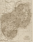 Victorian Reproduction County Map of ANY County of Northern Ireland or Channel Islands or Isle of Man
