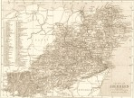 Victorian Reproduction County Map of ANY County of Scotland
