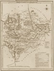 Victorian Reproduction County Map of ANY County of England